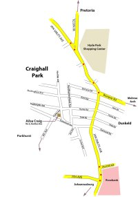 Craighall Park Accommodation – bed and breakfast